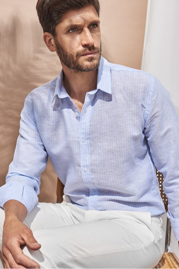 Camisa Biscay Lino