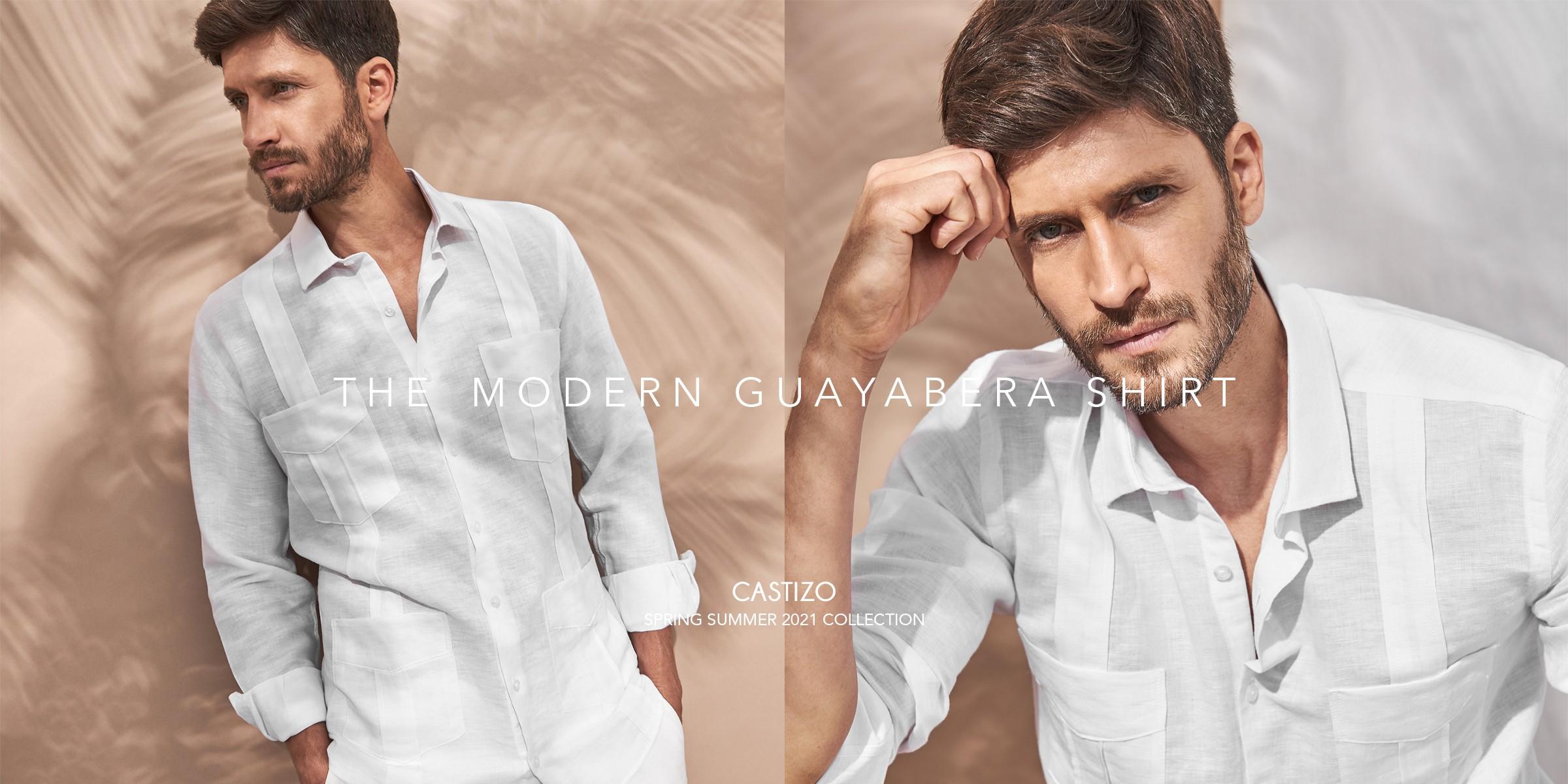The Modern Guayabera Shirt